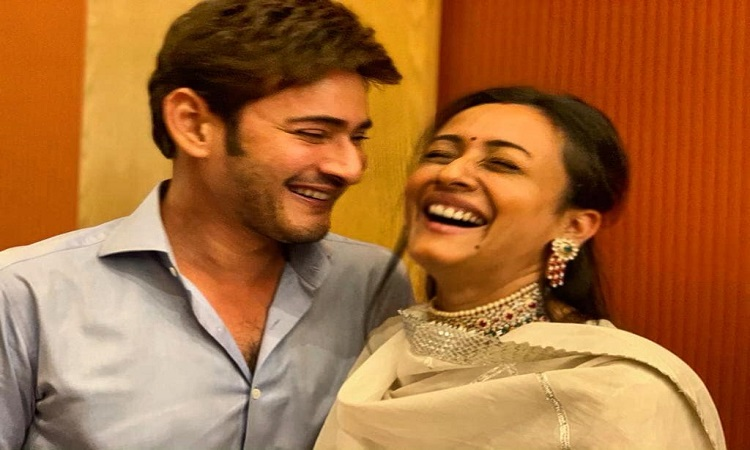 mahesh babu with wife celebrated their 14th anniversary in a special way