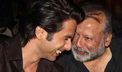 Pankaj Kapur with son Shahid