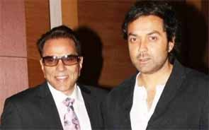 Dharmendra and Boby deol