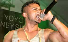 popular rapper Honey Singh