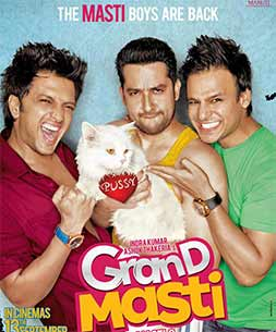 Vived, Ritesh and Aftab in grand masti movie