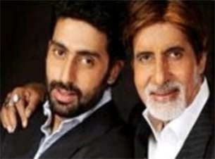 Amitabh and Abhishek