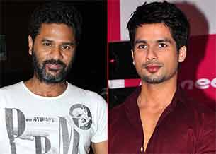 prabhu deba and shahid kapoor