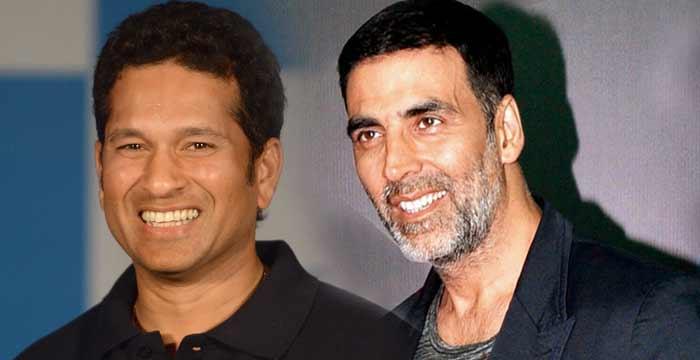 Sachin wishes to Akshay