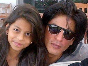 Shahrukh Khan SRK celebrates Friendship Day with daughter