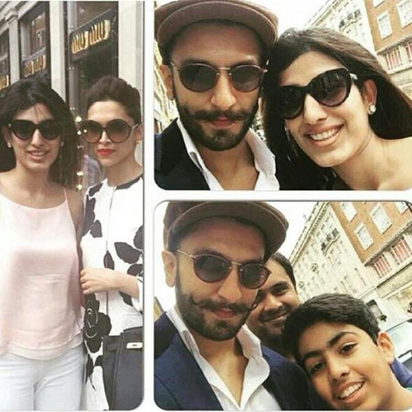 Image result for deepika padukone ranveer singh family VACATIONS