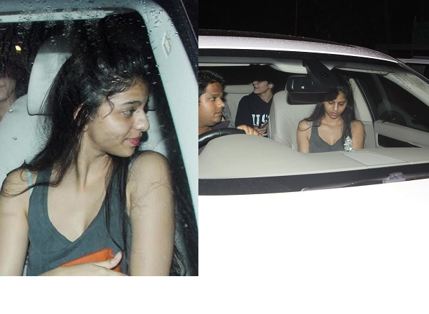 Image result for Suhana Khan enjoys a night out with friends