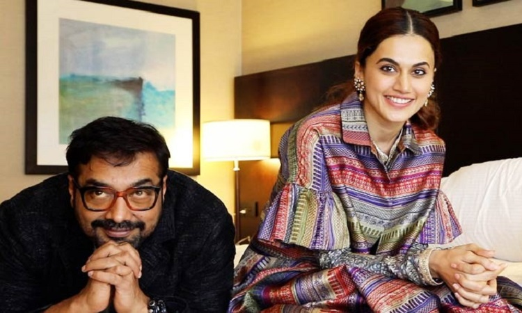 anurag and taapsee to come together for a movie
