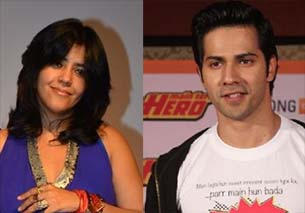 varun dhawan and ekta kapoor