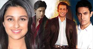 parineeti chopra on working with Khans