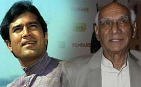 rajesh khanna and yash chopra