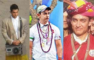 Amir Khan in PK movie