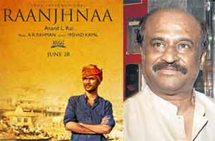 rajinikanth watch raanjhanaa movie