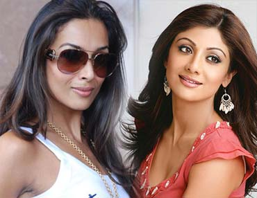 shilpa shetty and malaika arora khan