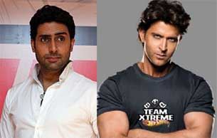 Abhishek and Hrithik