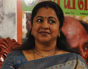 Actress Radikaa Sarathkumar