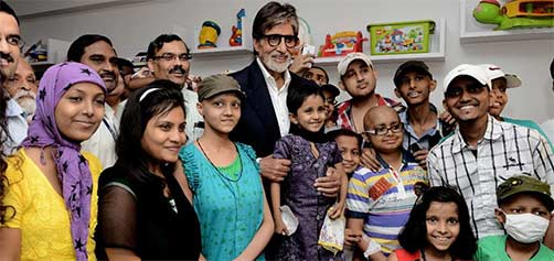 amitabh bachchan (Big B) at Tata Memorial Hospital