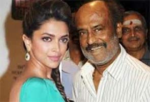 rajinikanth and deepika padukone