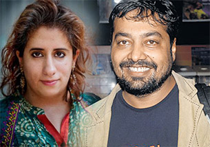 Guneet Monga and anurag kashyap in 65th Cannes International Film Festival