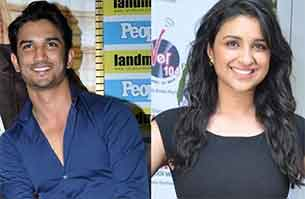 sushant singh rajput and parineeti chopra