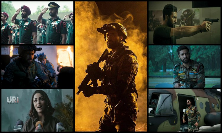 stills from uri trailer