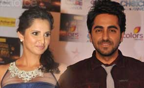 Sania Mirza and Ayushmann khurrana