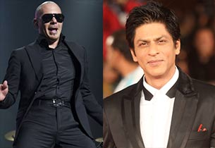American rapper Armando Christian and Shahrukh Khan
