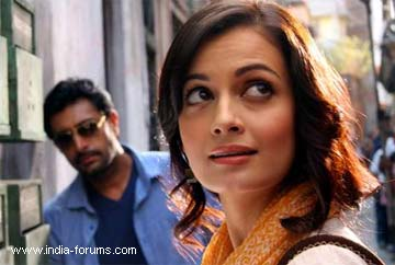Actress dia mirza in Tollywood Bengali Movie Panch Adhyay