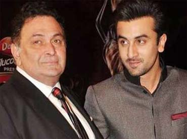 rishi kapoor and ranbir kapoor to perfor together at IIFA