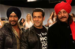 ajay, sanjay and salman