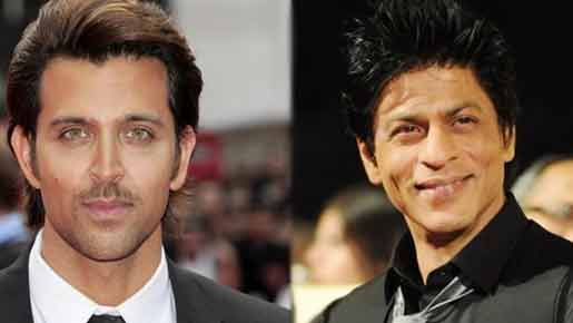 Shahrukh and Hrithik