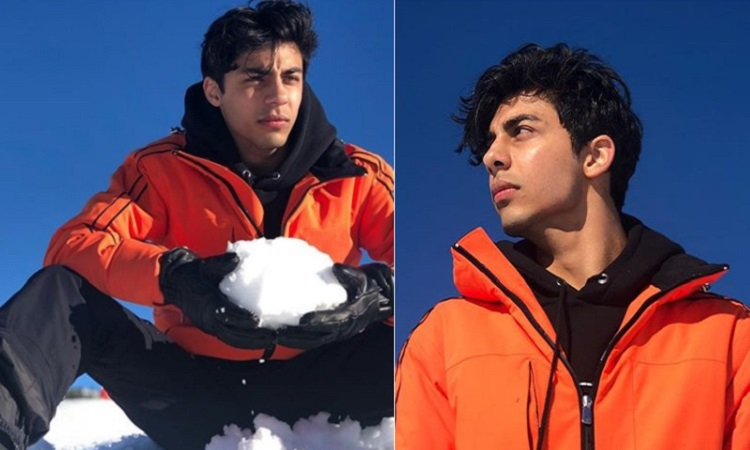 aryan khan posts pictures from his alps vacation in france