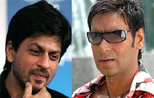 ajay devgn and shahrukh khan