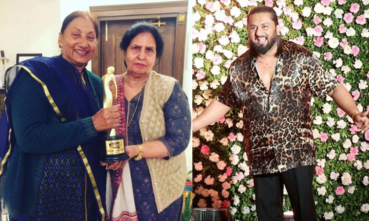 honey singh recieves the best song of the year award