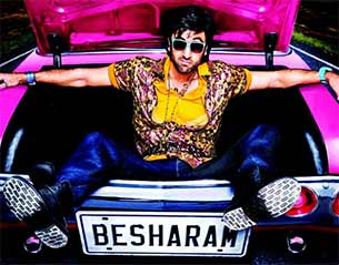 besharam movie poster