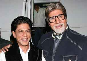amitabh bachchan and shahrukh khan
