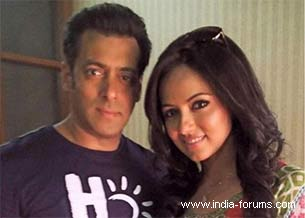 salman khan and sanaa khan