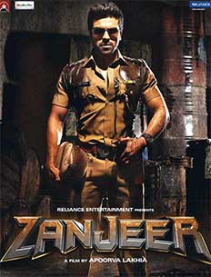 Zanjeer 2013 movie poster