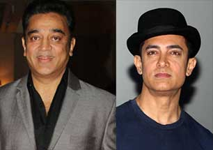 Amir Khan and Kamal haasan