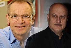 Jeffrey Archer and anupam kher