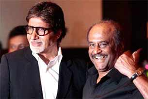 amitabh bachchan and rajinikanth