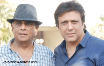 Pahlaj Nihalani and govinda in avater movie