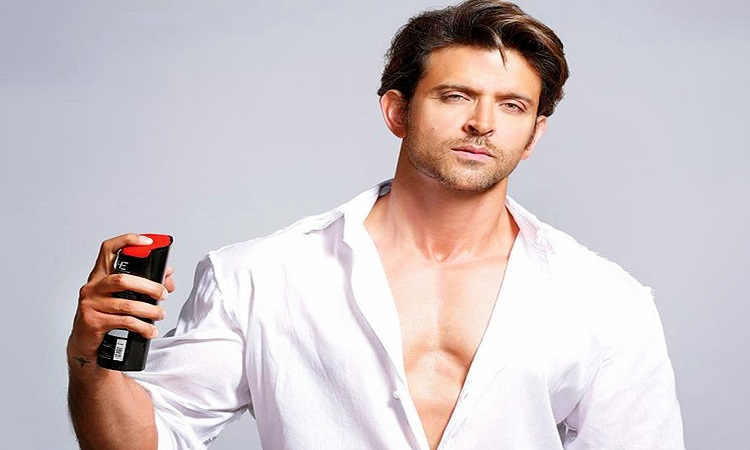 hrithik uses a new perfume for his every movie