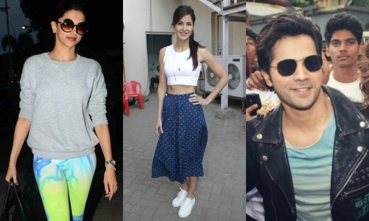 celebrities in trending clothes