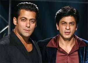 shahrukh khan and salman khan