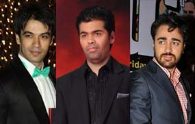 punit malhotra karan johar and imran khan