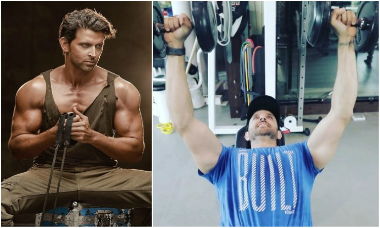 hrithik posts another gym video
