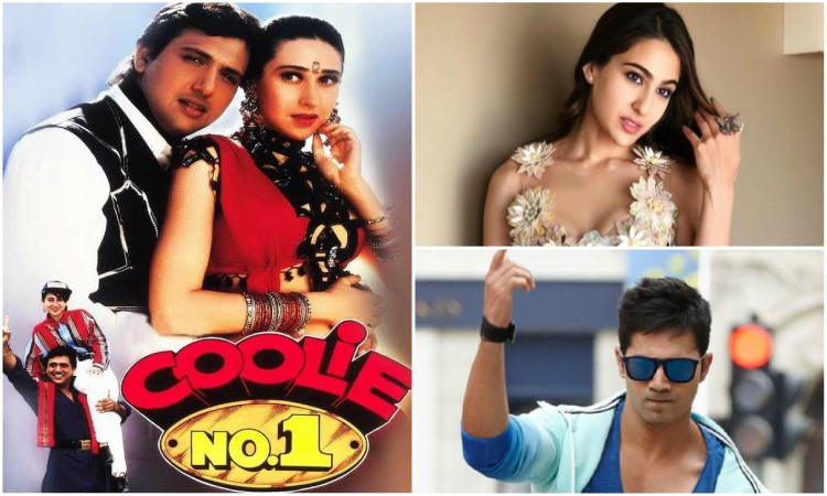 sara and varun confirmed for coolie no 1 remake