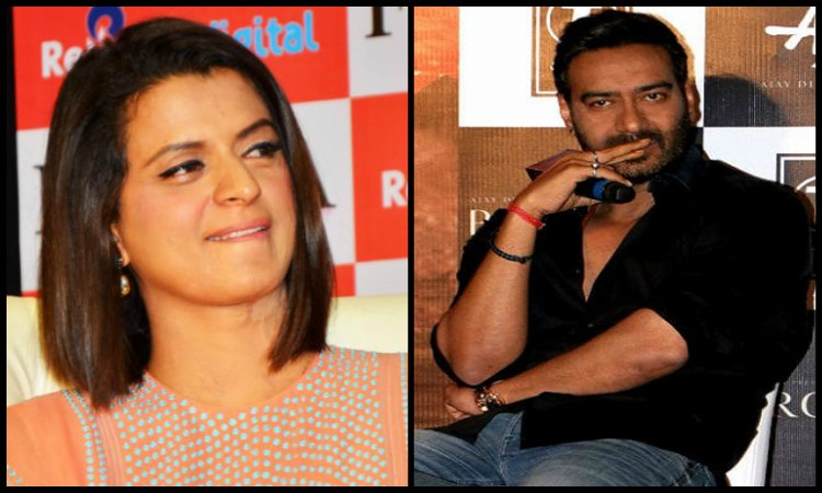 rangoli slams ajay devgn for working with alok nath