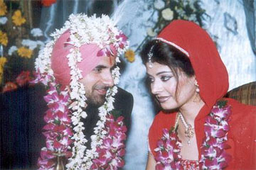 Sonu Ahluwalia and pooja batra Wedding